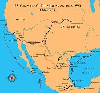 the united states and mexicos responsibility for the mexican war The mexican-american war (1846-1848) was a long, bloody conflict between the united states of america and mexico learn more.