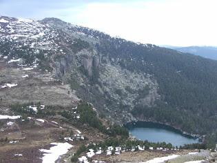 Laguna Negra y Cañon Rio Lobos