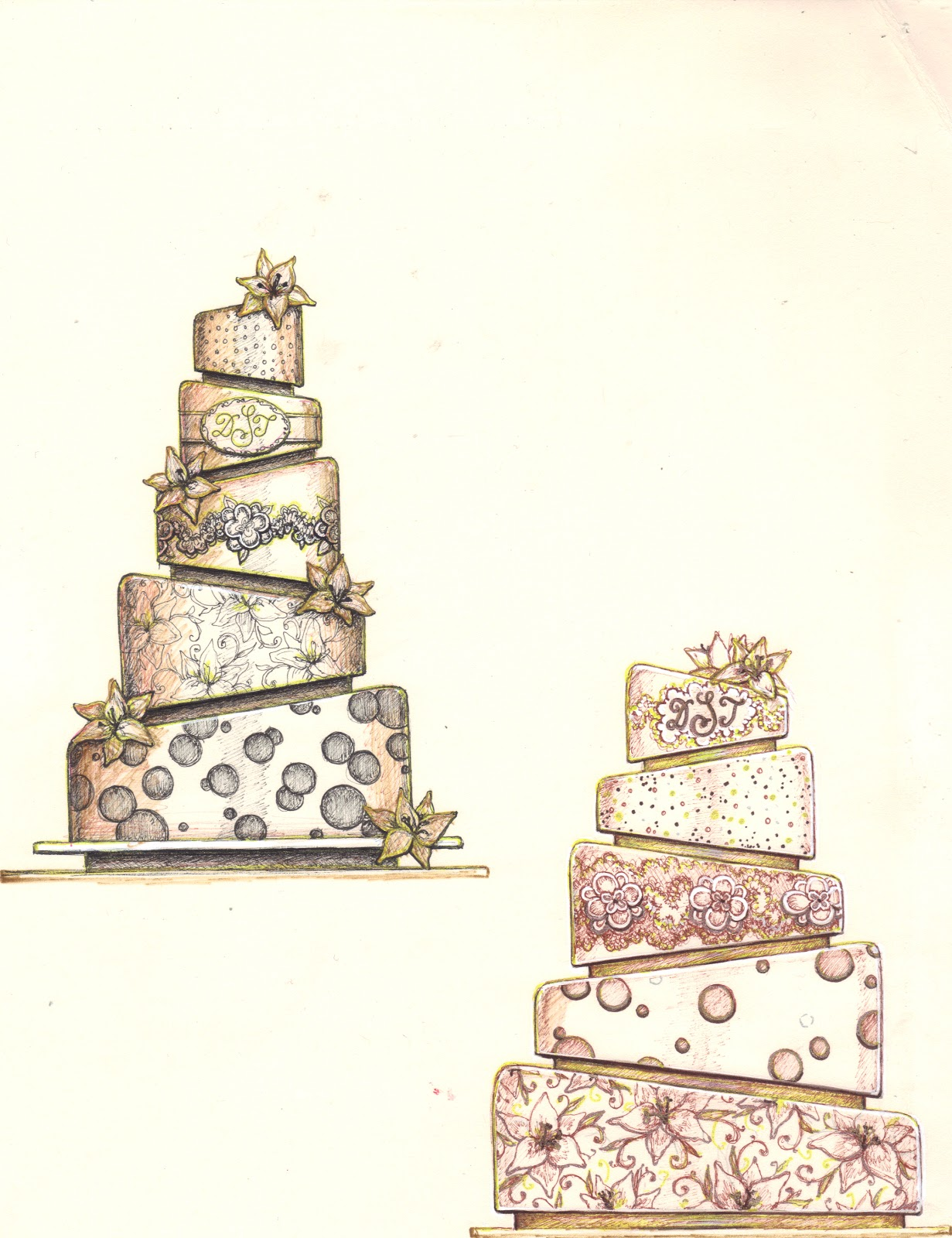 Artist Who Draws Cake : Queen Anne s Lace Cakes: The Cake Artist s Journey