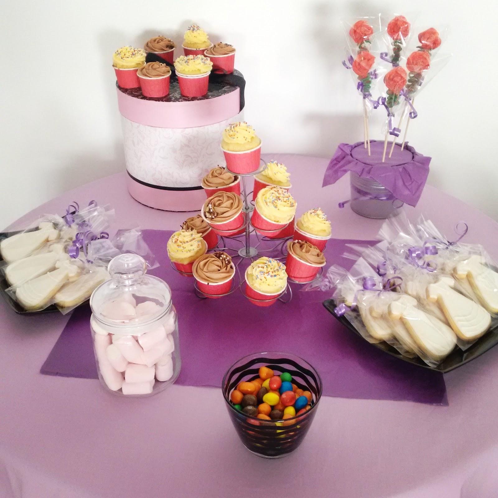 Candybytes mesa dulce sencilla - Ideas para decorar mesas de chuches ...