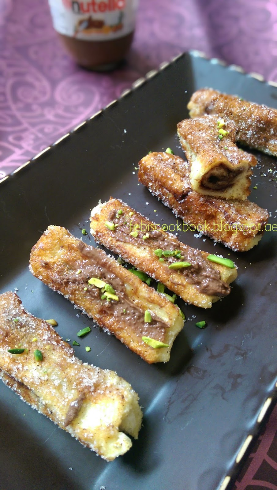 Nutella French Toast Rolls Here Is Something Versatile A Simple Breakfast,  A Snack,
