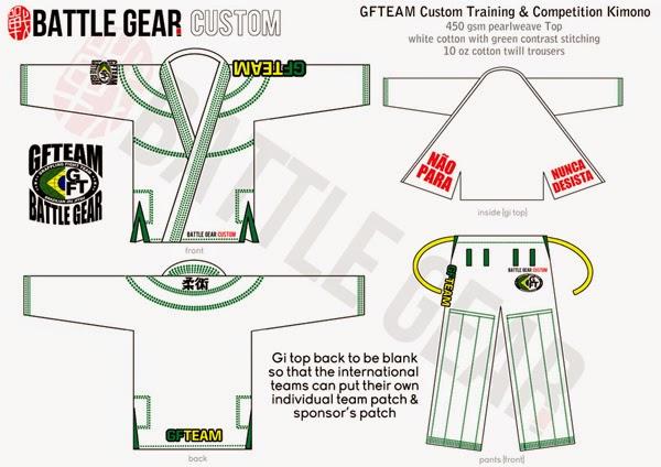 Custom GFTEAM Kimono by Battle Gear ~ GFTEAM (Grappling Fight Team ...