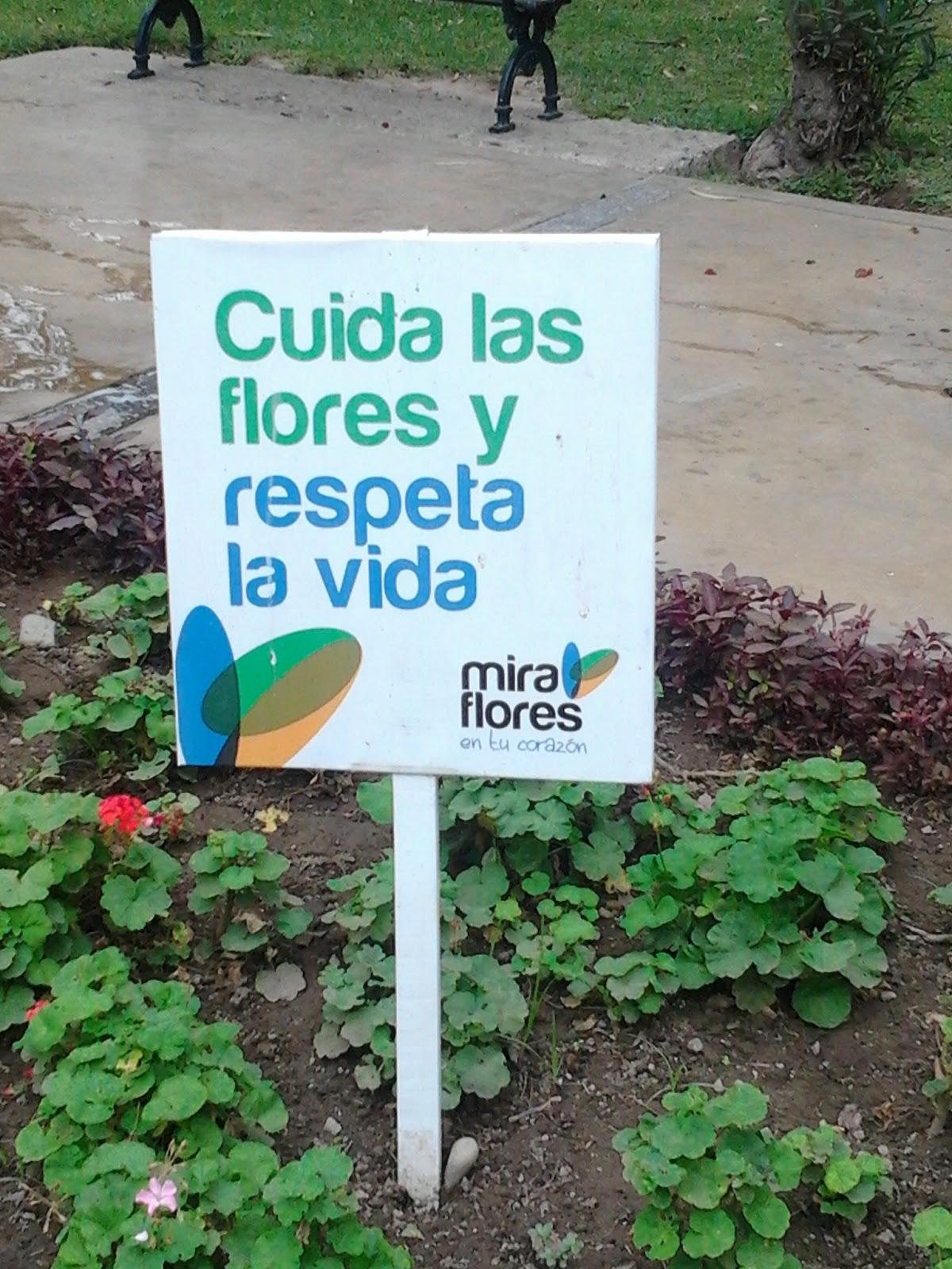 Mensajes urbanos fotograf as de jose alfonso tafur - Como cuidar un jardin ...