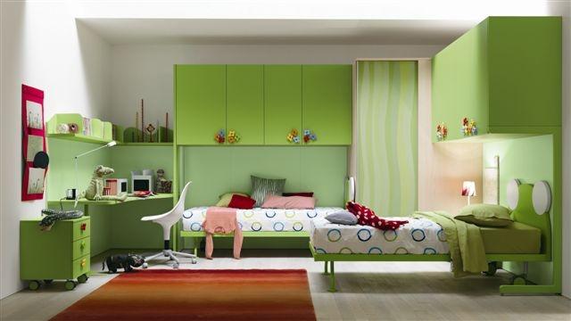 Dormitorios para adolescentes color verde dormitorios for Decoracion de cuartos para jovenes