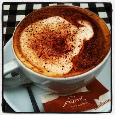 Vegan cappuccino