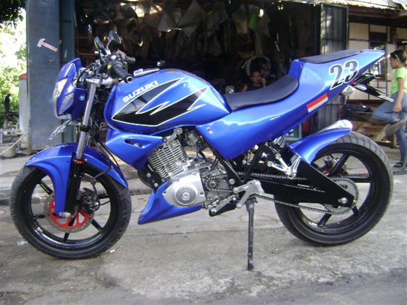 Modifikasi Suzuki Shogun 125_racing Custom Bike Gambar Foto Modifikasi