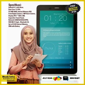 Talkshow dan Launching Gadget Islami Meyda Sefira