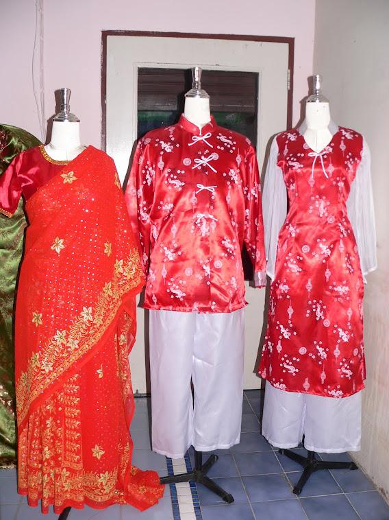 ชุดอาเซี่ยนประจำชาติสิงคโปร์