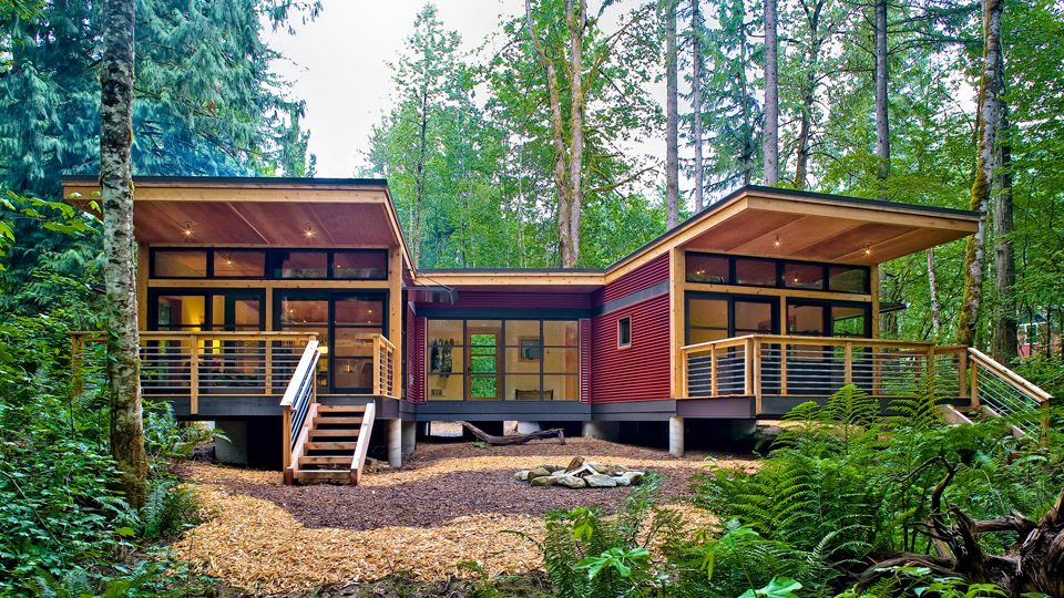 Prefab homes and modular homes in usa washington for Prefabricated homes seattle