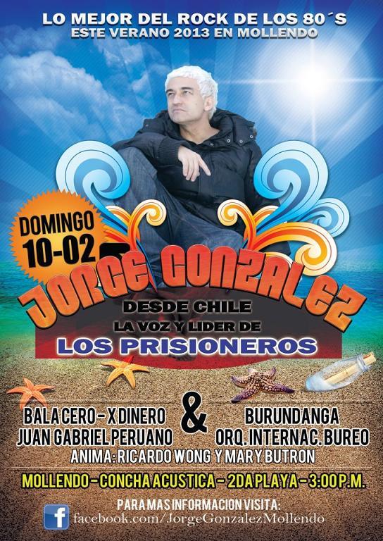JORGE GONZALES de LOS PRISIONEROS EN MOLLENDO (10 feb)