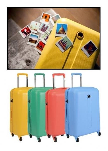 10 valises trolley Delsey