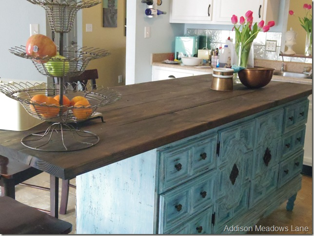 Great Kitchen Island Buffet Images >> Kitchen Island Created From A ...