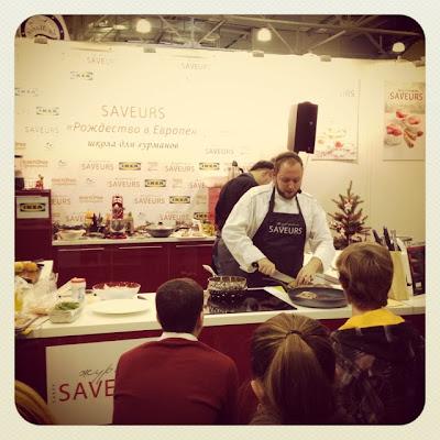 Кулинарный мастер-классы Saveurs