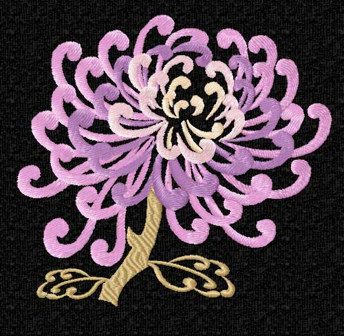 chinese flower symbol, Natural flower