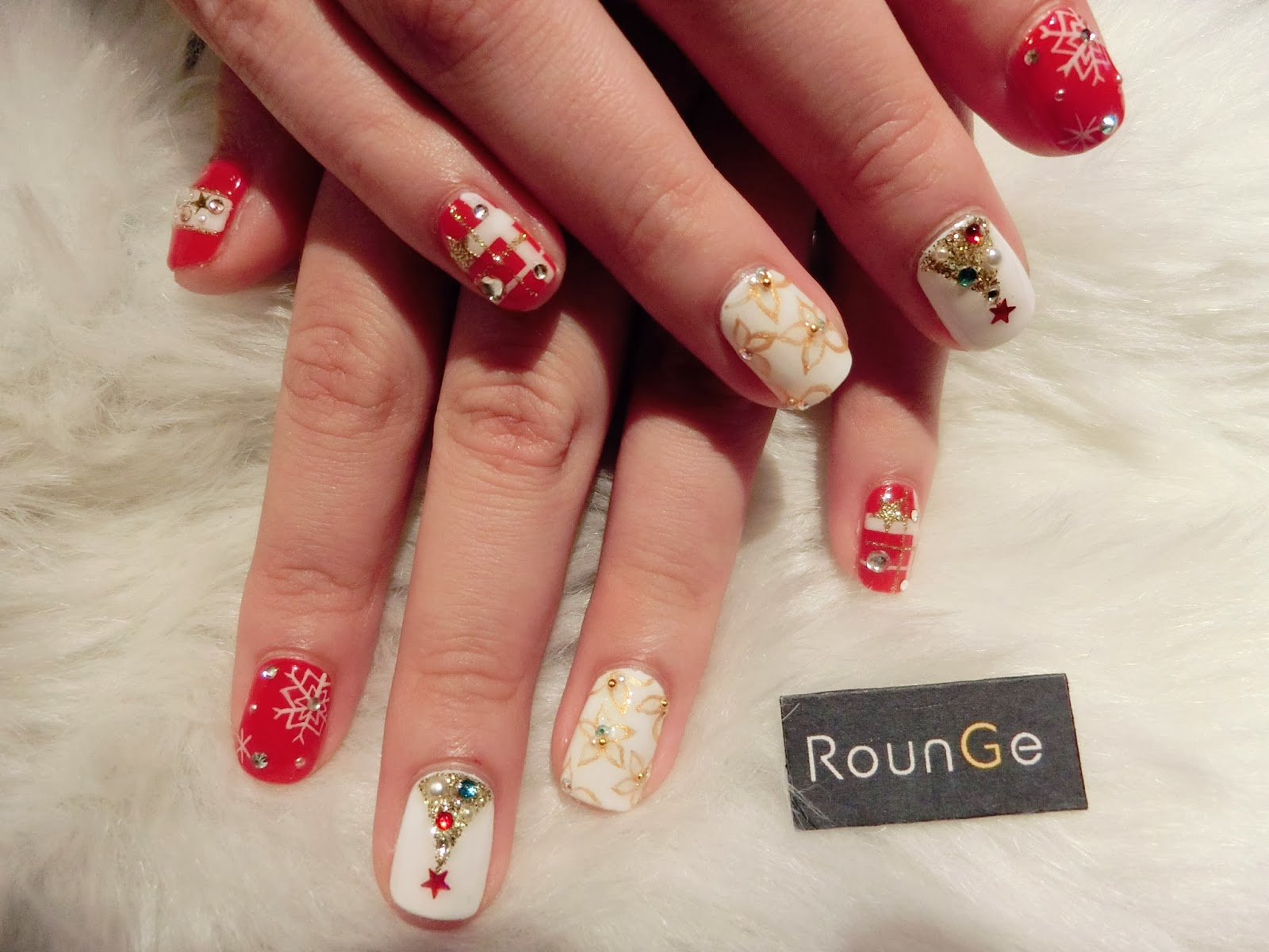 Rounge SGC Nail Salon Tokyo Review - Gel vs Gelish | Award-winning ...