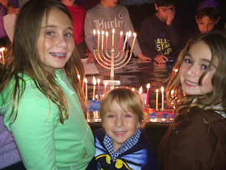 Chanukkah Lights at Temple Menorah