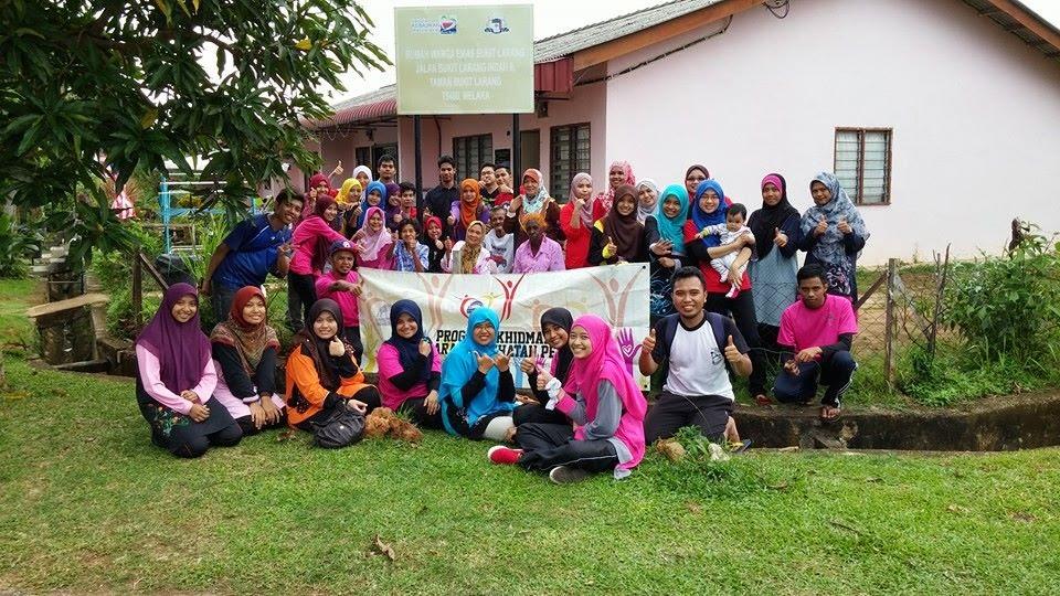 Program Bakti Siswa u3p di Bukit Larang Melaka, u3p