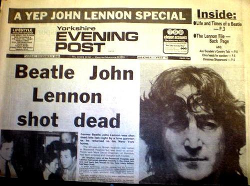 assassination of john lennon