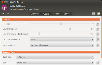 Ubuntu Tweak Compiz Settings
