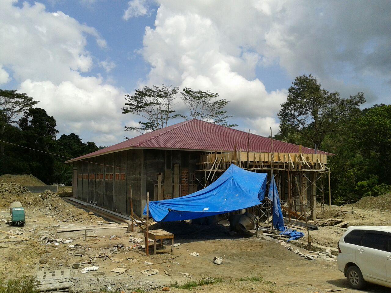 Gaji dan Bahan Bangunan Tak Dibayar, Pekerja Blokir Pembangunan Gudang Farmasi