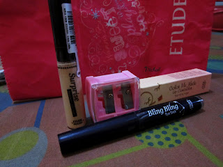 Etude House, Concealer, Sharpener, Lip Primer, Highlighter