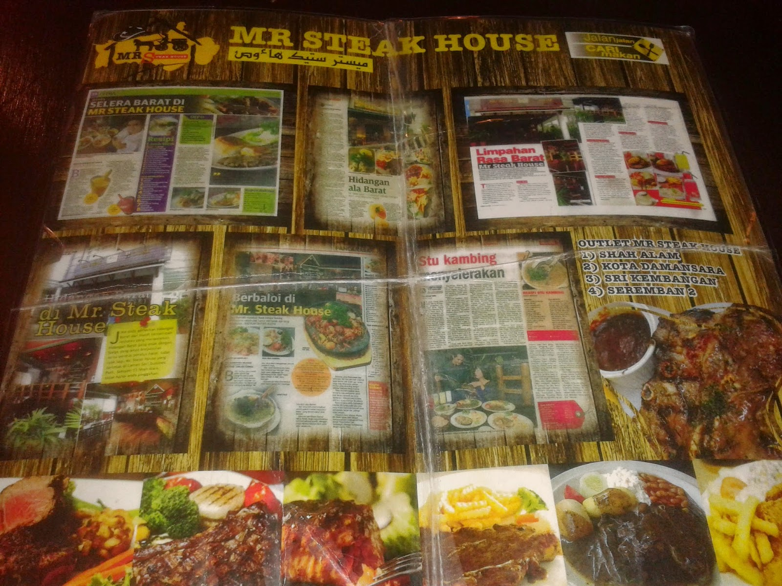 We Took A Table Inside The Restaurant Waitress With Cowboy Hat Came Quickly To Ist Us Menu My Husband Actually Enquired About Some Of