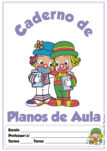 Capa para Caderno de Planos de Aula