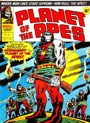 Marvel UK, Planet of the Apes #64, Conquest