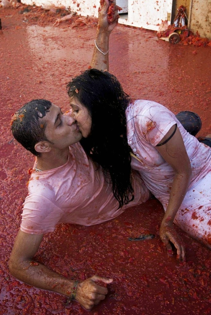 Томатина - Битва томатов. Фото