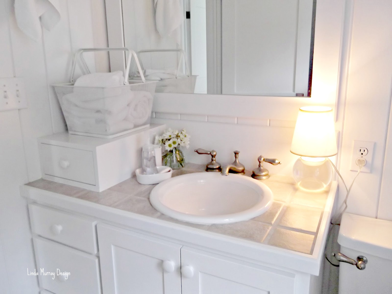 What\'s Old Is New: Bed Bath and Beyond - The All White Bath