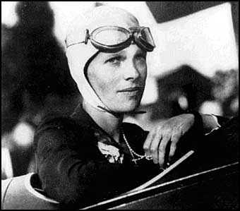 when amelia earhart was a