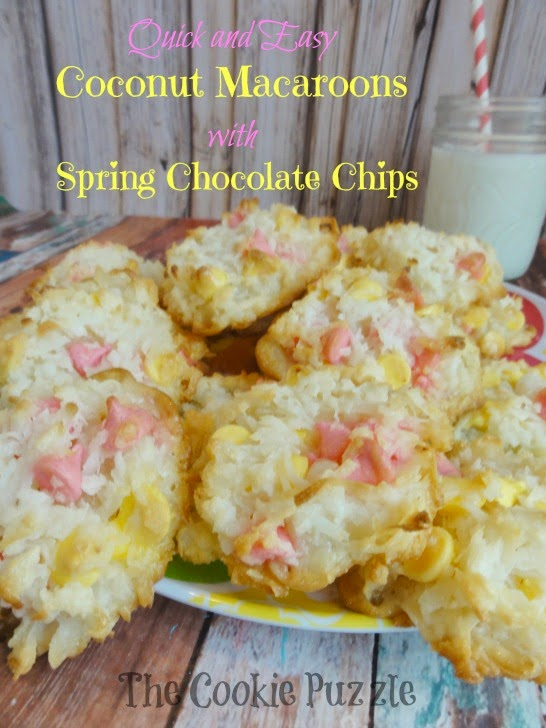 Quick and Easy Coconut Macaroons for Spring