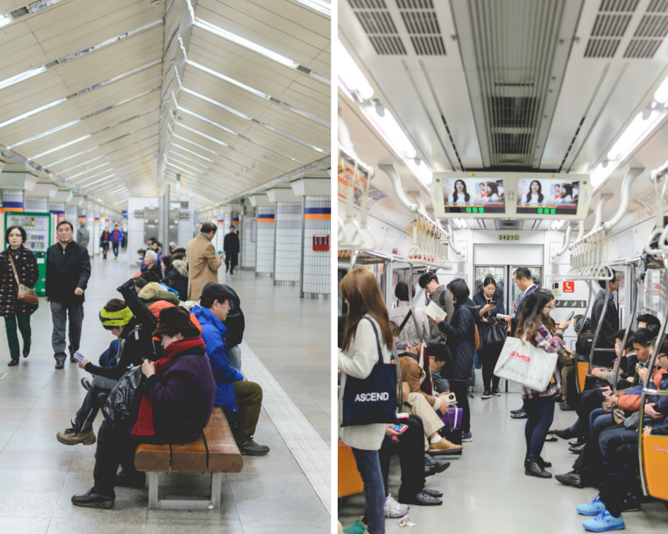Seoul Subway travel