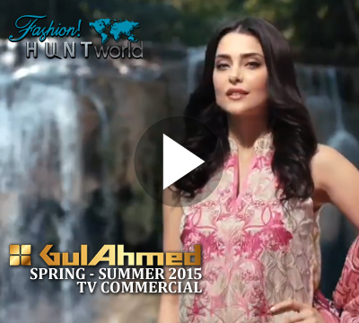 Gul Ahmed Spring Summer 2015 TV Commercial | Gul Ahmed Summer '15 VOL 1