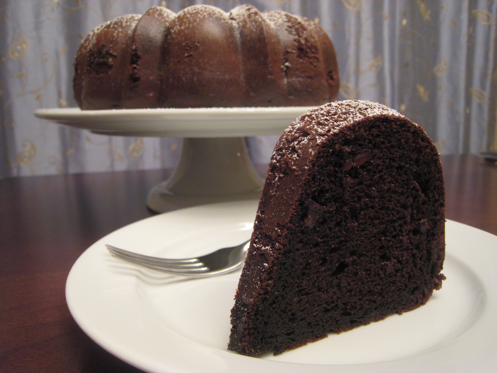 The Garlic Press: Triple Chocolate Bundt Cake