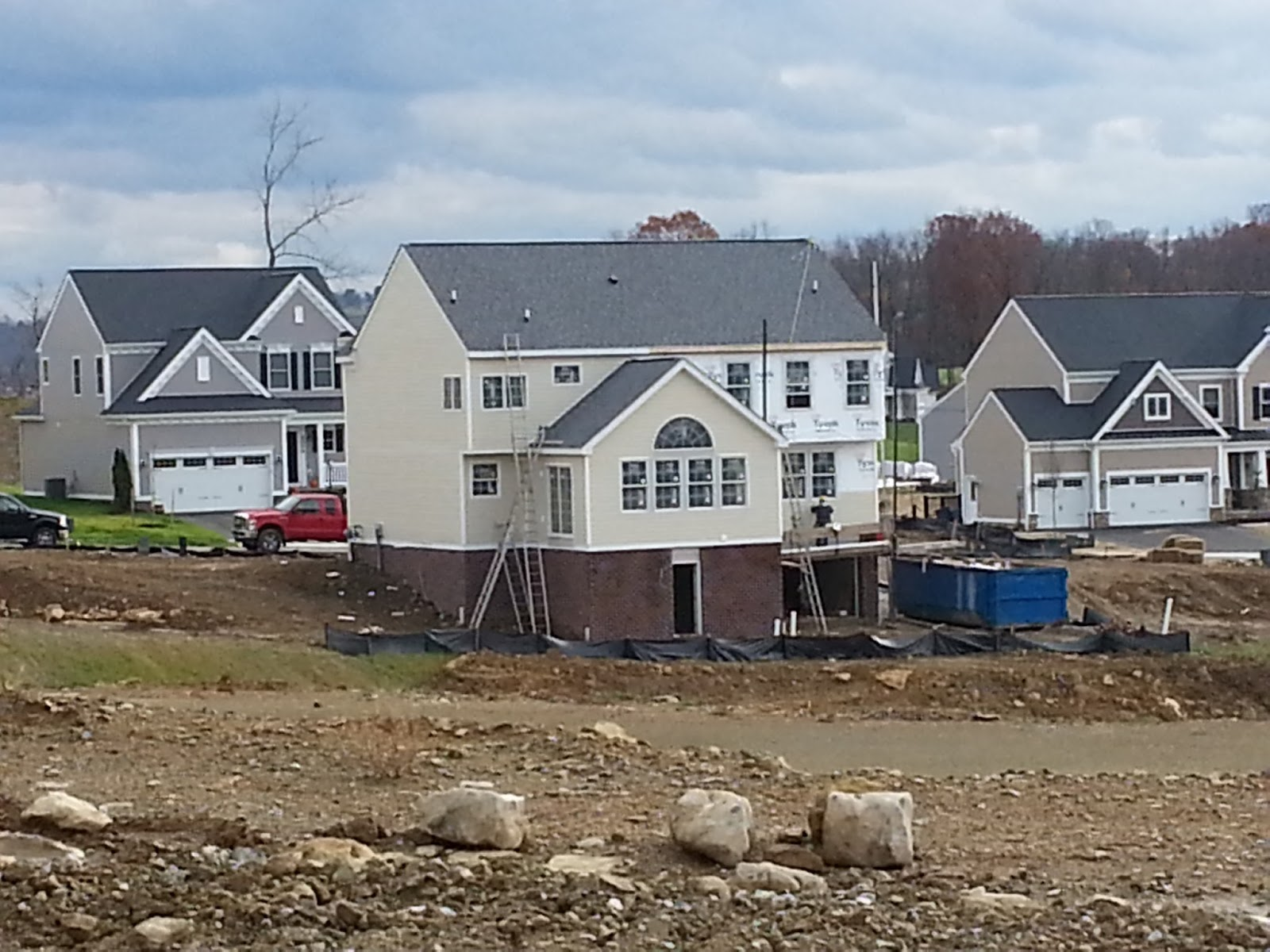 Building the stanford for Heartland homes pittsburgh floor plans