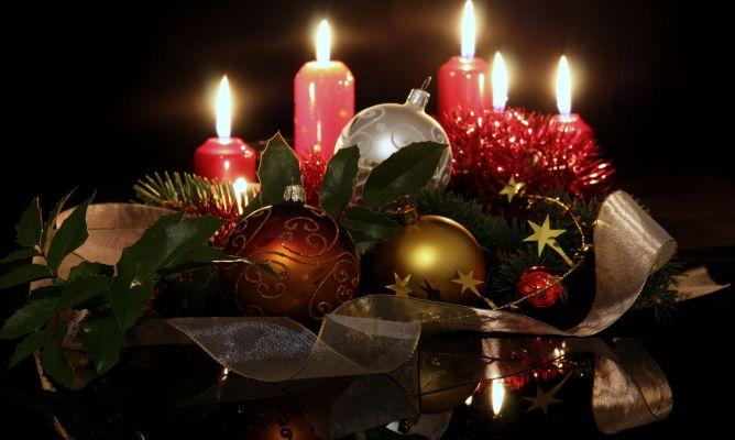 Sentires la navidad en el mundo tradiciones y curiosidades - Velas decoradas para navidad ...