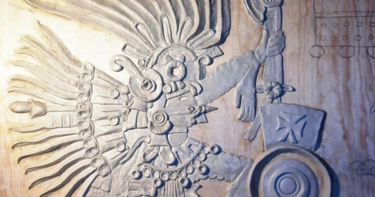 Grupo edam mural escult rico quetzalc atl la serpiente for Mural quetzalcoatl