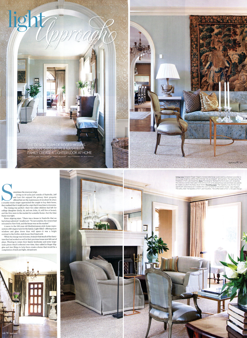 SPOTTED: RHI in Traditional Home | R. Higgins Interiors