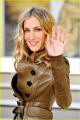 Sarah  Jéssica Parker de casaco