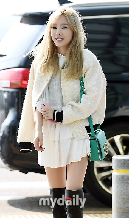 10 hot airport fashion moments with snsds taeyeon