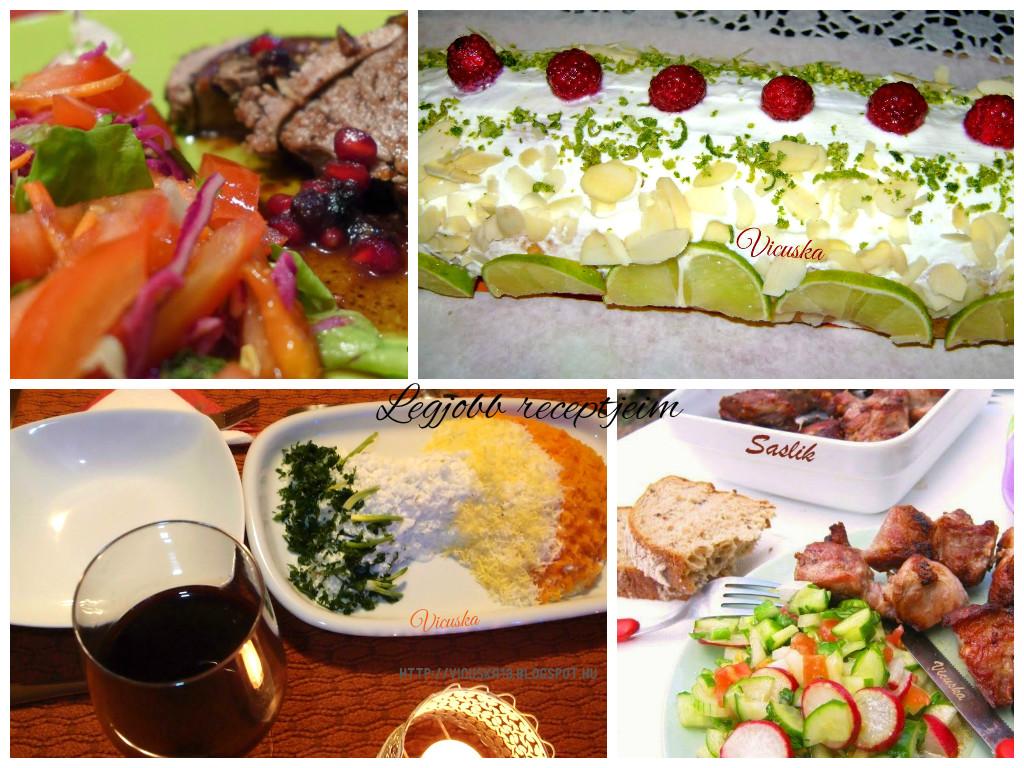 Legjobb receptjeim- avagy az étkezés összetartja a családot