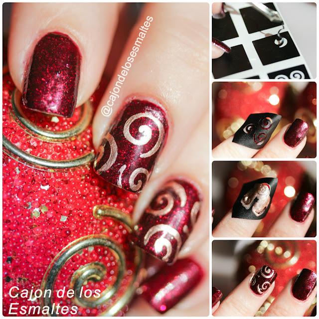 Como aplicar stencils para decorar uñas