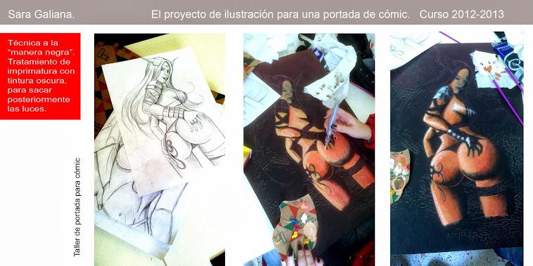 El VII proyecto de ilustración en el cómic