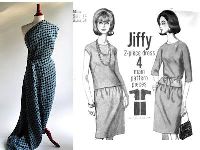 tweed and vintage pattern