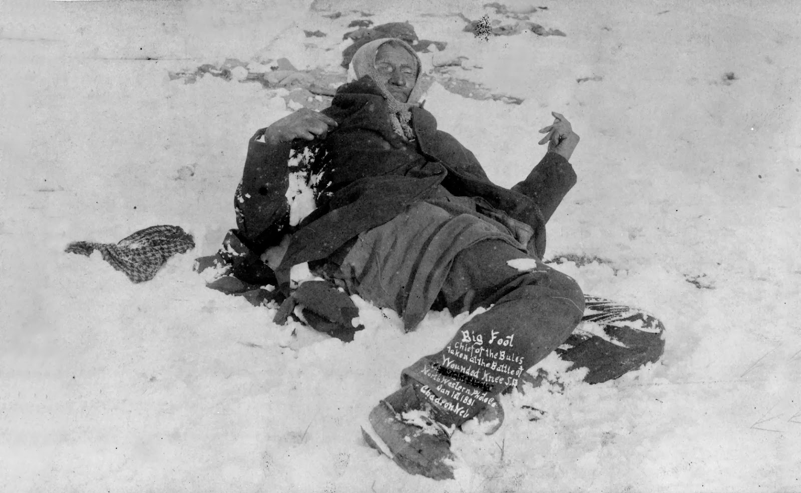 Wounded knee public domain clip art photos and images