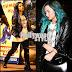 Demi Lovato y su hermosa melena azul regresan de Brasil a California!