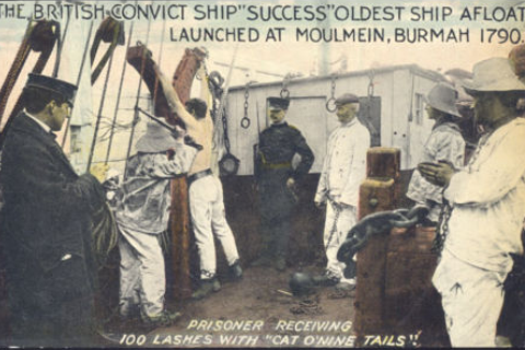 Convict Ship Success - oldest ship afloat