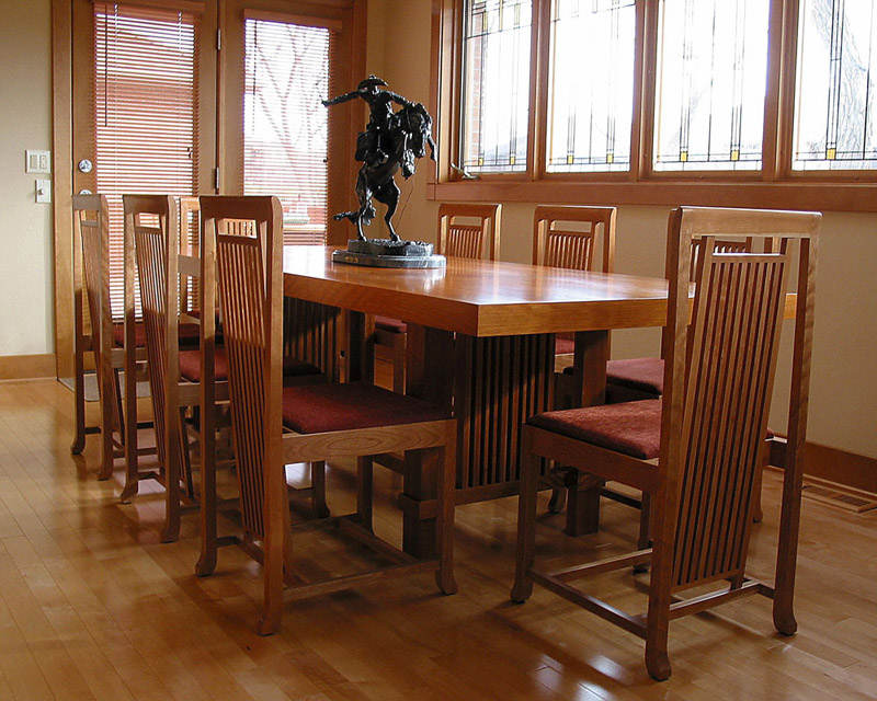 Kitchen Table Woodworking Plans - PDF Plans