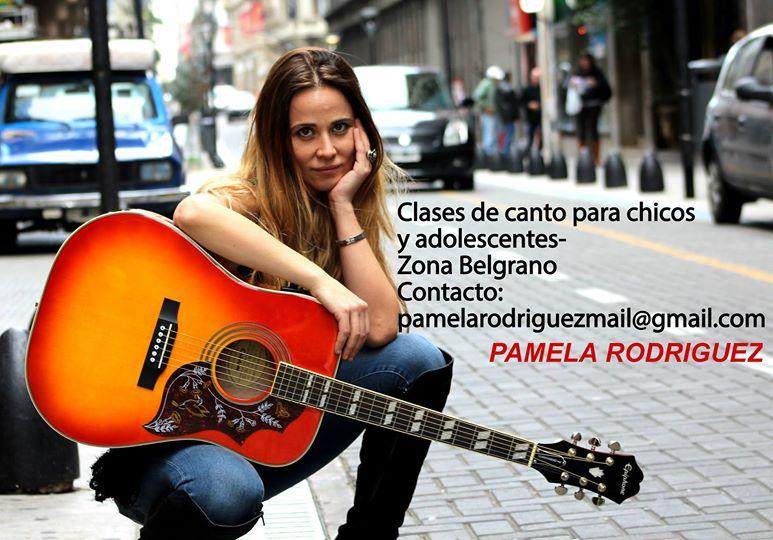 CLASES DE CANTO BY PAMELA RODRIGUEZ